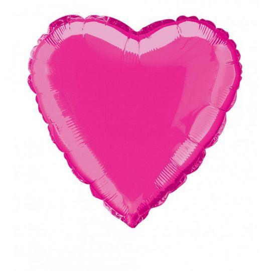 Сердце фуксия