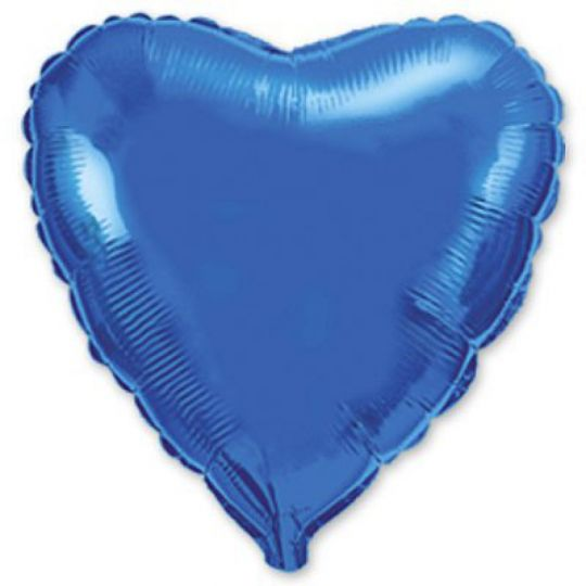 Сердце синее