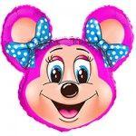 Мышка девочка (2 цвета)