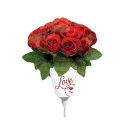 Букет роз на палочке