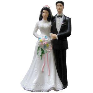 Жених и невеста фигурка на торт