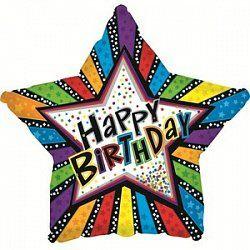 Звезда яркая С днем рождения